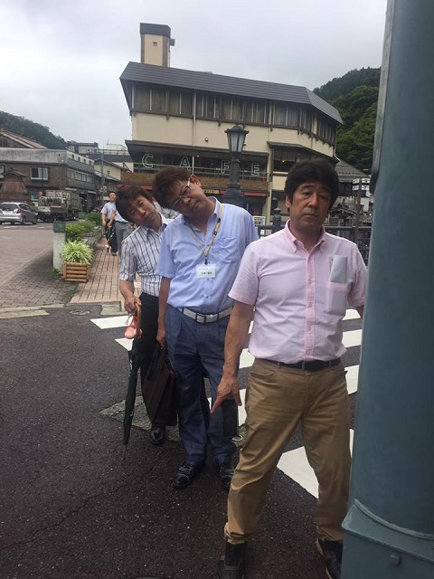 /// 兵庫県商工会金融審査委員2日目 湯村温泉のジオガイドをしました ///_f0112434_1441154.jpg