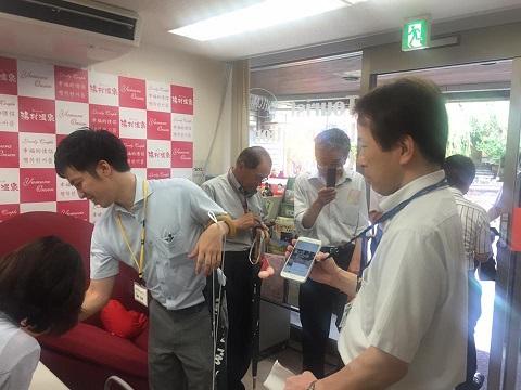 /// 兵庫県商工会金融審査委員2日目 湯村温泉のジオガイドをしました ///_f0112434_14414182.jpg