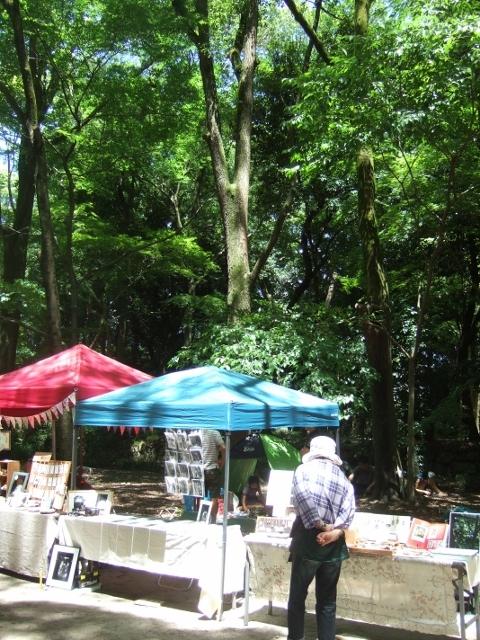 爽やかな風と樹の下で 第19回森の手作り市 有難うございました_a0306166_02070380.jpg