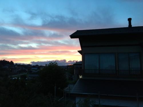 甲斐駒ヶ岳の夕日_d0338282_20415656.jpg
