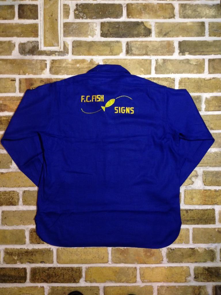 神戸店7/13(水)ヴィンテージ&スーペリア入荷!#4  Vintage Chain Stitch Shirt!!!(T.W.神戸店)_c0078587_19573064.jpg