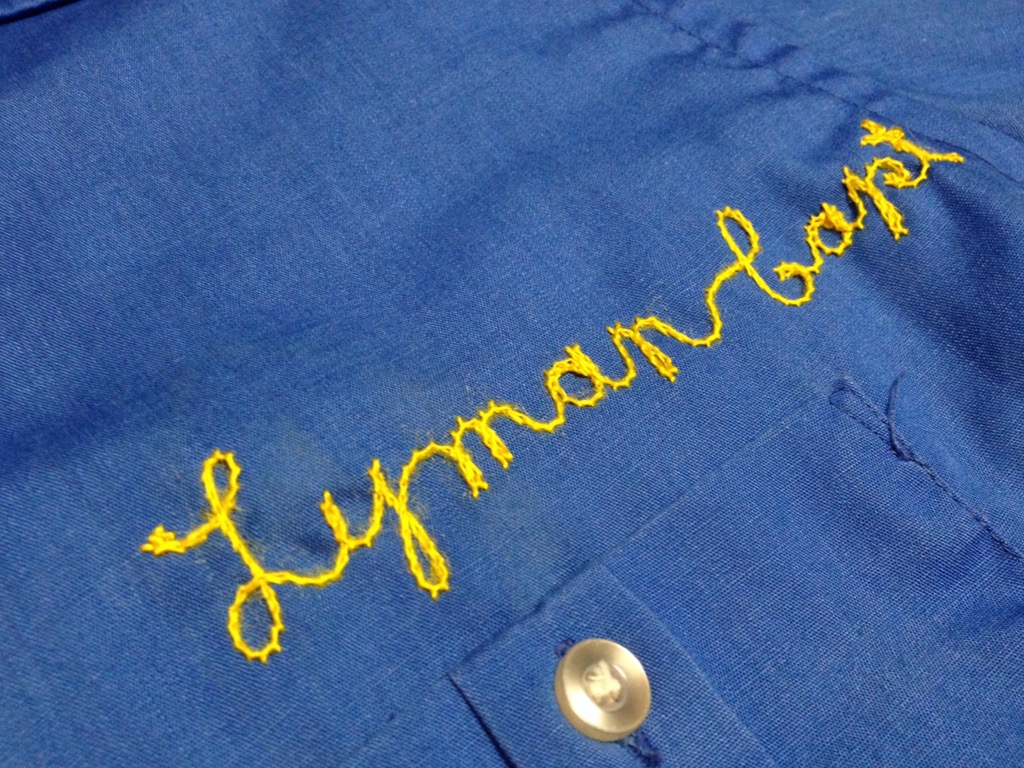 神戸店7/13(水)ヴィンテージ&スーペリア入荷!#4  Vintage Chain Stitch Shirt!!!(T.W.神戸店)_c0078587_20143370.jpg