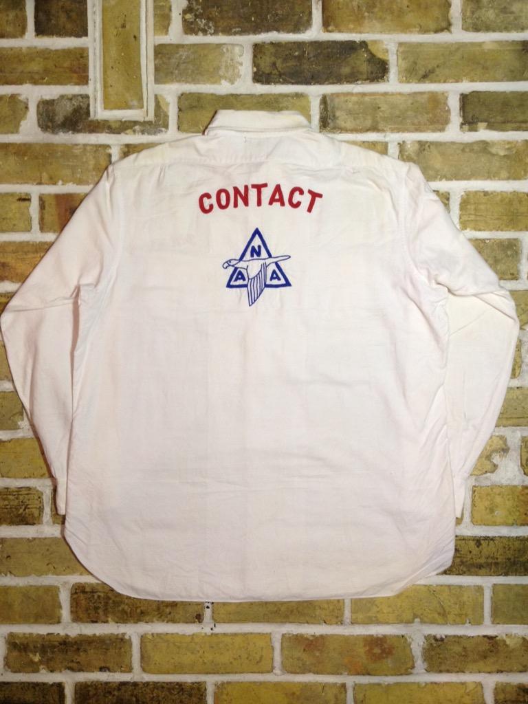 神戸店7/13(水)ヴィンテージ&スーペリア入荷!#4  Vintage Chain Stitch Shirt!!!(T.W.神戸店)_c0078587_20153663.jpg