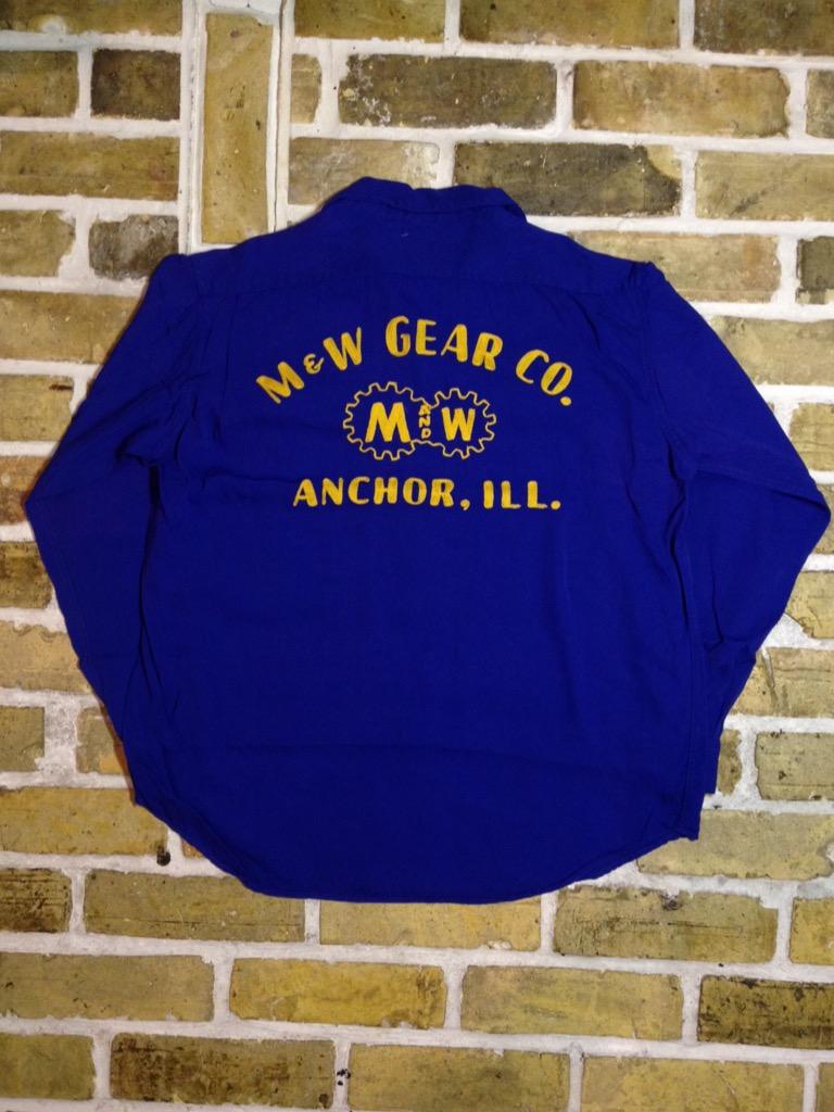 神戸店7/13(水)ヴィンテージ&スーペリア入荷!#4  Vintage Chain Stitch Shirt!!!(T.W.神戸店)_c0078587_2031669.jpg