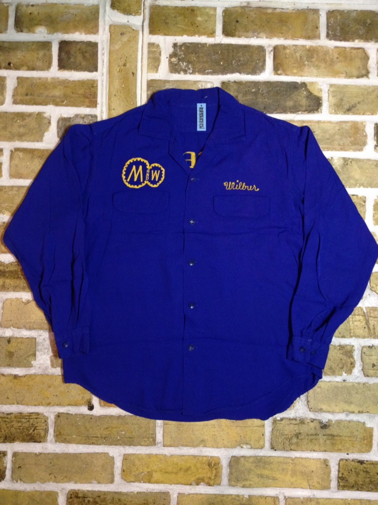 神戸店7/13(水)ヴィンテージ&スーペリア入荷!#4  Vintage Chain Stitch Shirt!!!(T.W.神戸店)_c0078587_203551.jpg