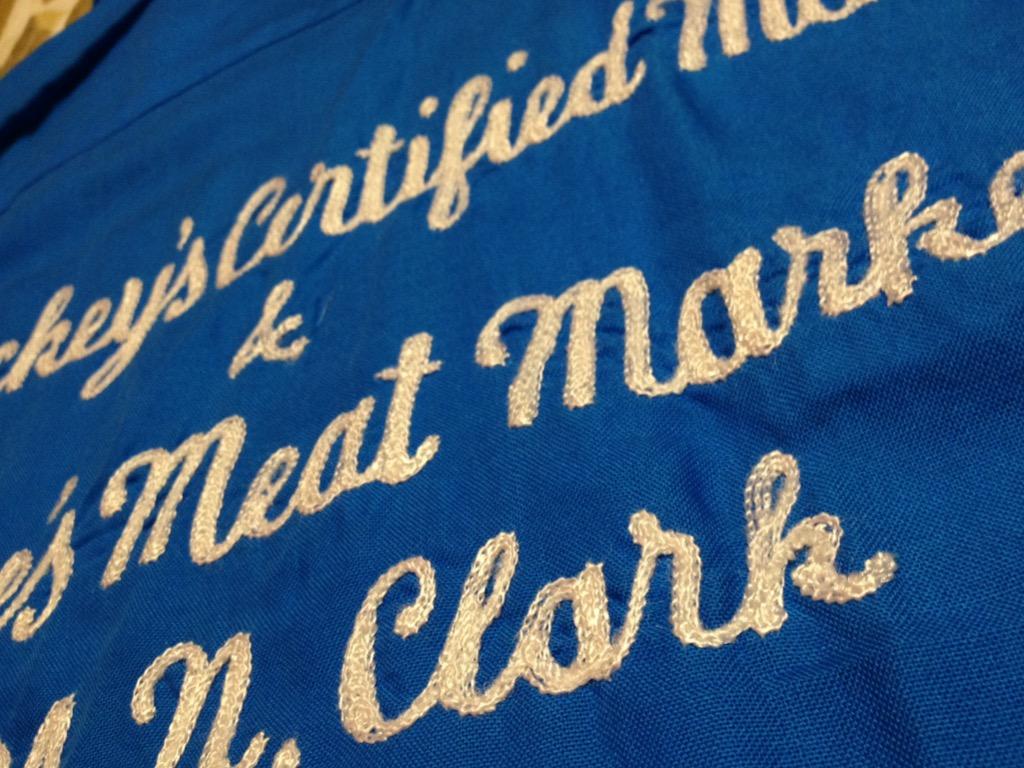 神戸店7/13(水)ヴィンテージ&スーペリア入荷!#4  Vintage Chain Stitch Shirt!!!(T.W.神戸店)_c0078587_2053035.jpg