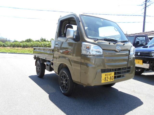 ☆ハイゼットトラック リフトアップ 展示車完成((㊤´ё`㊤))♪ノノ_c0213517_13295503.jpg