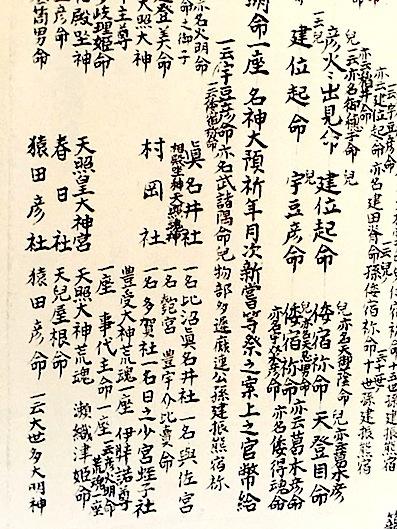 六甲山と瀬織津姫 34 海部氏系図...