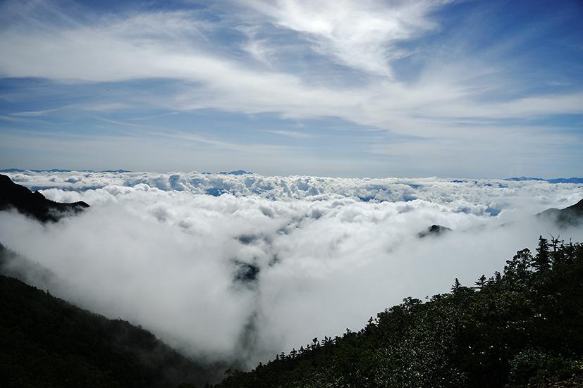 行くぜ、大天井岳!インディアン・ランチへの道 _f0016656_22535637.jpg