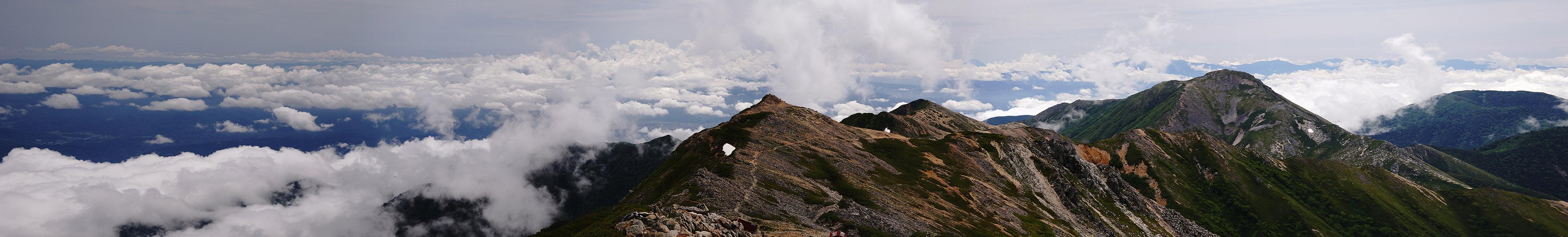 行くぜ、大天井岳!インディアン・ランチへの道 _f0016656_2322341.jpg