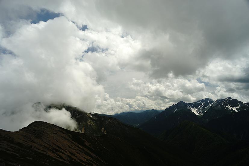 行くぜ、大天井岳!インディアン・ランチへの道 _f0016656_2341663.jpg
