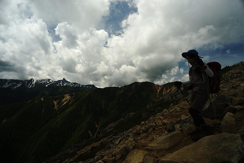 行くぜ、大天井岳!インディアン・ランチへの道 _f0016656_234795.jpg