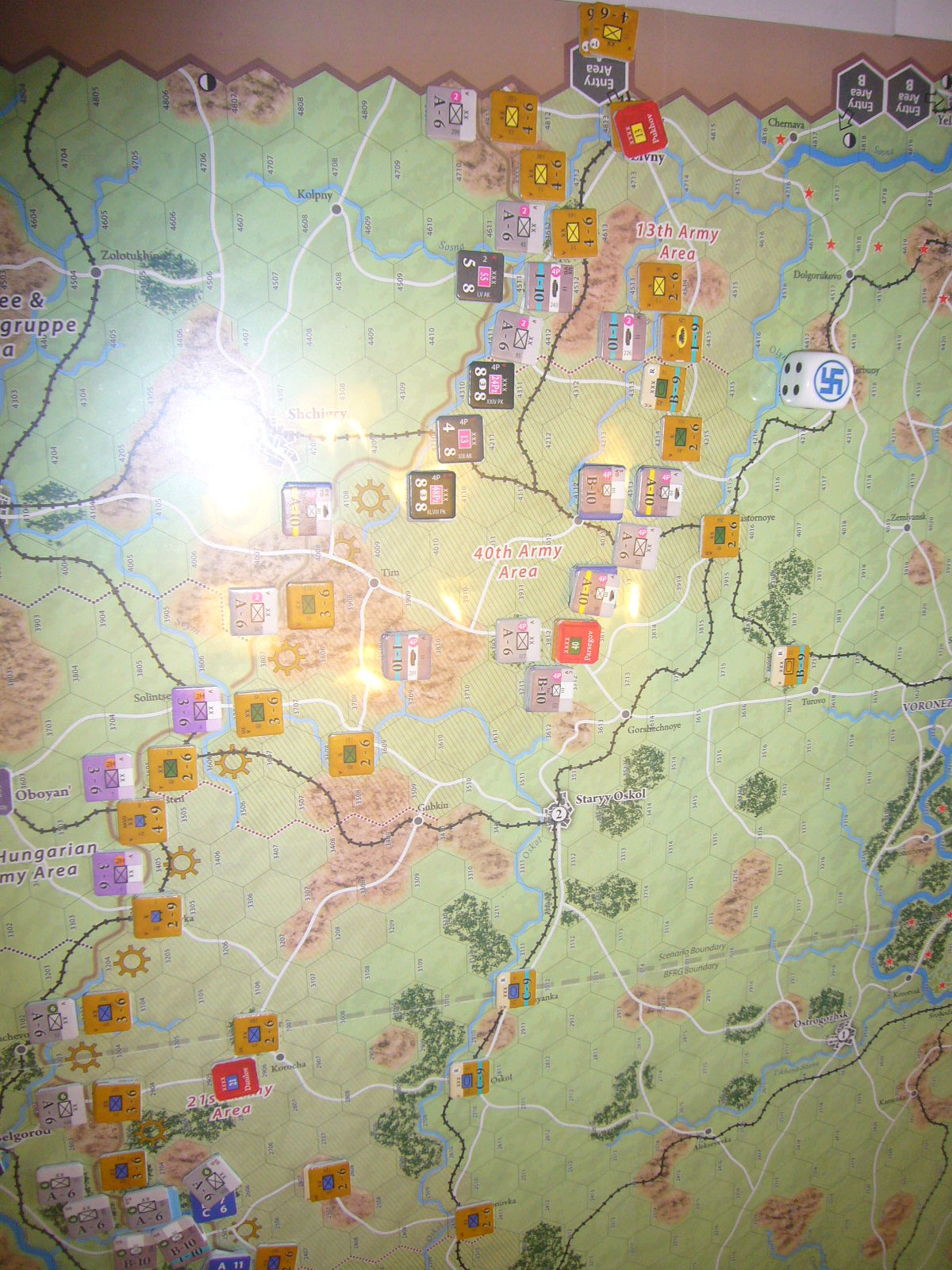 (Compass)FALL BLAU: Army Group South, June to December 1942 青作戦:史実の7月キャンペーンお試し5人戦❶_b0173672_16240125.jpg