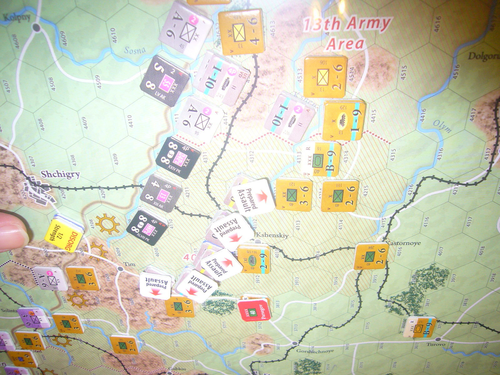 (Compass)FALL BLAU: Army Group South, June to December 1942 青作戦:史実の7月キャンペーンお試し5人戦❶_b0173672_16240181.jpg