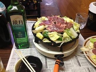 これ食べました。平岸「駅前ジンギスカン」_f0362073_3375897.jpg