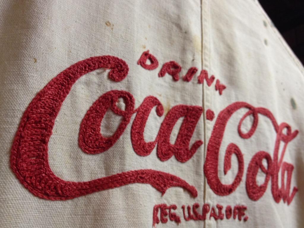 神戸店7/13(水)ヴィンテージ&スーペリア入荷!#5 1940\'s Coca-Cola Soft Work JKT!!!(T.W.神戸店)_c0078587_12401299.jpg