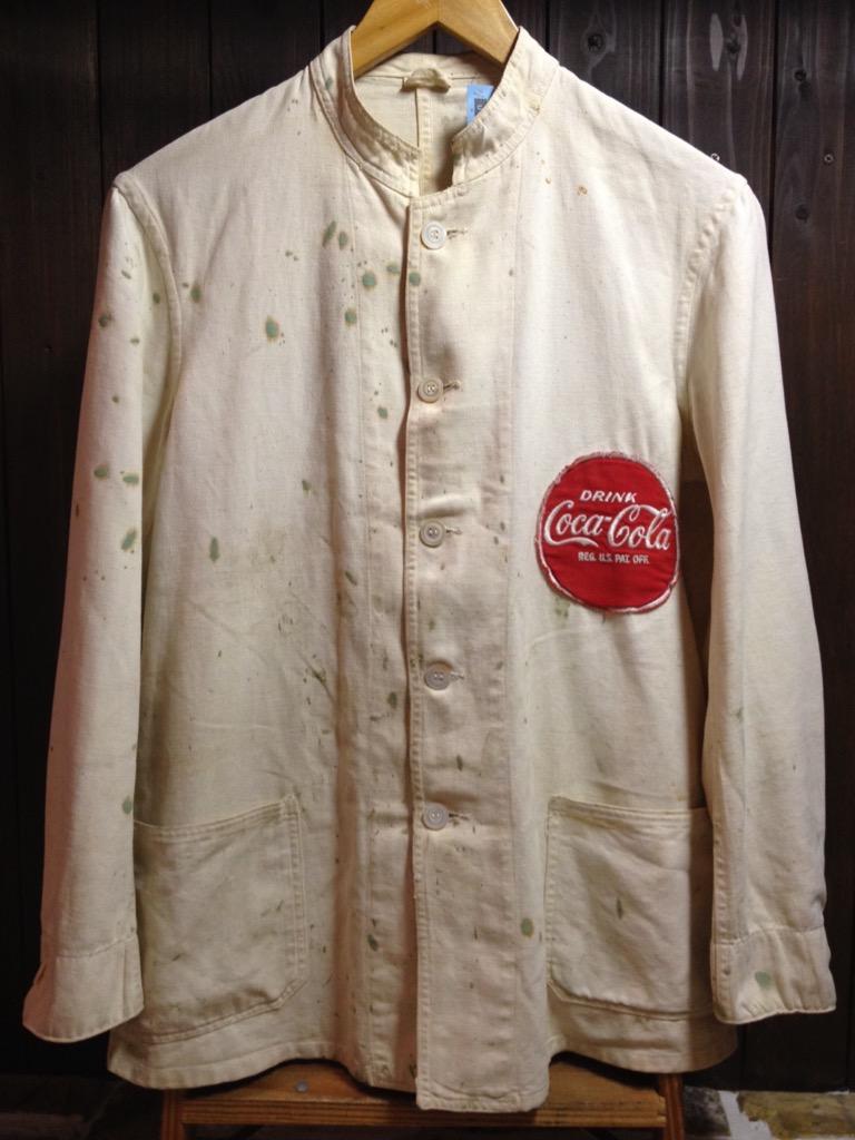 神戸店7/13(水)ヴィンテージ&スーペリア入荷!#5 1940\'s Coca-Cola Soft Work JKT!!!(T.W.神戸店)_c0078587_1240204.jpg