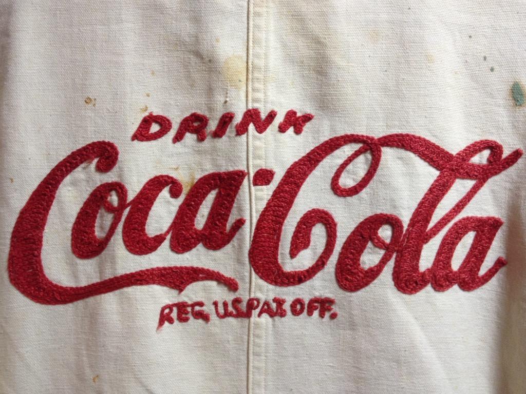 神戸店7/13(水)ヴィンテージ&スーペリア入荷!#5 1940\'s Coca-Cola Soft Work JKT!!!(T.W.神戸店)_c0078587_12412890.jpg