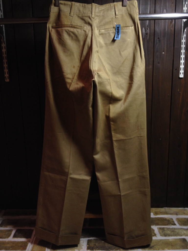 神戸店7/13(水)ヴィンテージ&スーペリア入荷!#6 US.ArmyMetal Button Chino Trousers!!!(T.W.神戸店)_c0078587_1451399.jpg