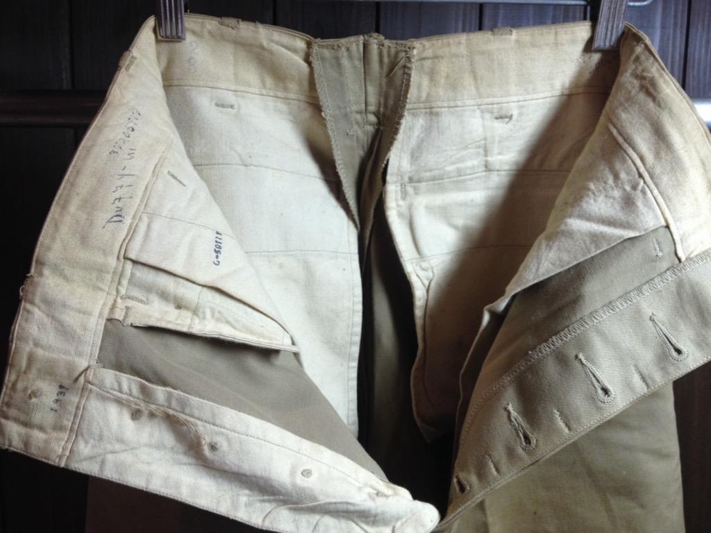 神戸店7/13(水)ヴィンテージ&スーペリア入荷!#6 US.ArmyMetal Button Chino Trousers!!!(T.W.神戸店)_c0078587_14534833.jpg