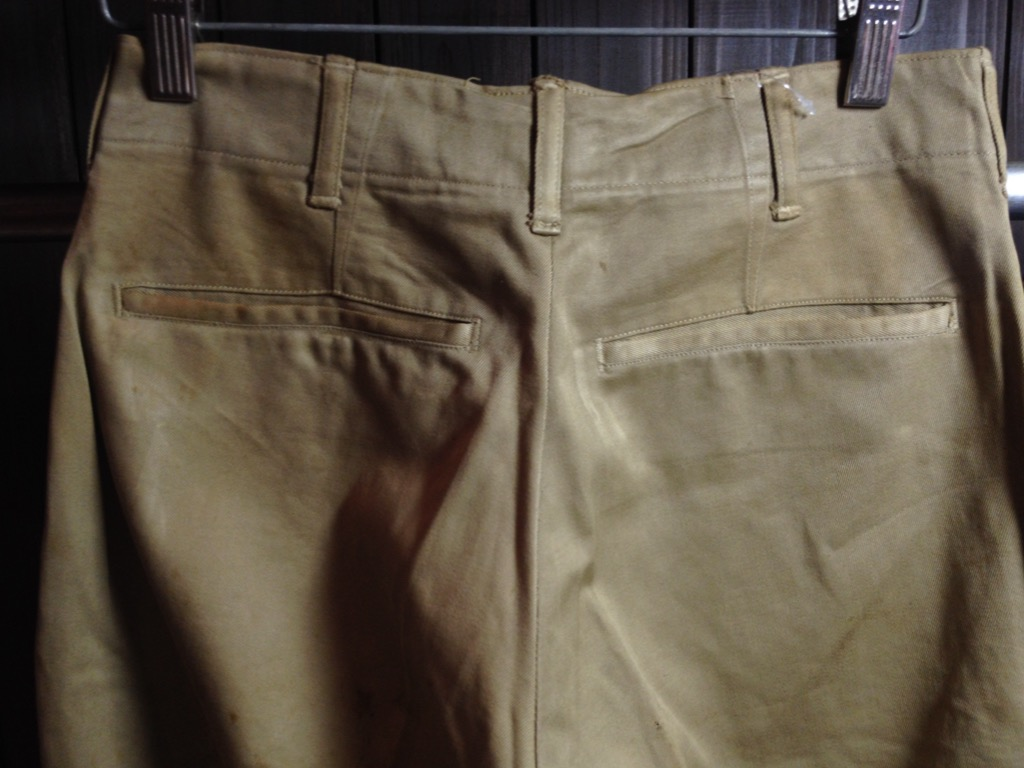 神戸店7/13(水)ヴィンテージ&スーペリア入荷!#6 US.ArmyMetal Button Chino Trousers!!!(T.W.神戸店)_c0078587_1454203.jpg