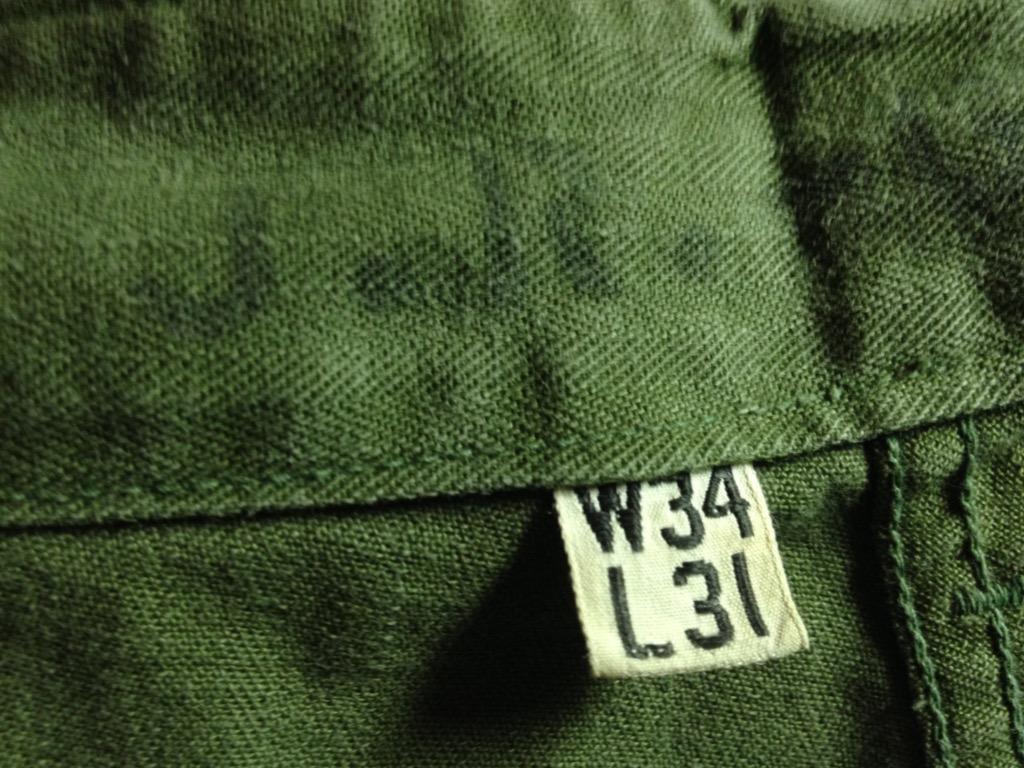 神戸店7/13(水)ヴィンテージ&スーペリア入荷!#6 US.ArmyMetal Button Chino Trousers!!!(T.W.神戸店)_c0078587_14592121.jpg
