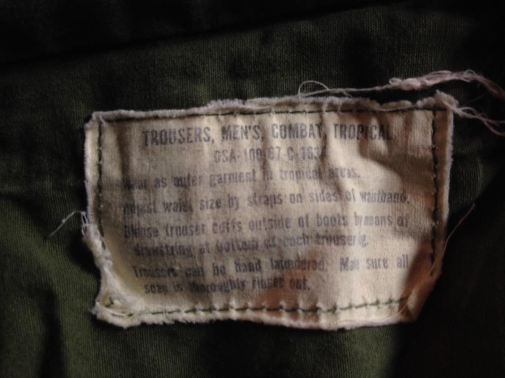 神戸店7/13(水)ヴィンテージ&スーペリア入荷!#6 US.ArmyMetal Button Chino Trousers!!!(T.W.神戸店)_c0078587_15405542.jpg