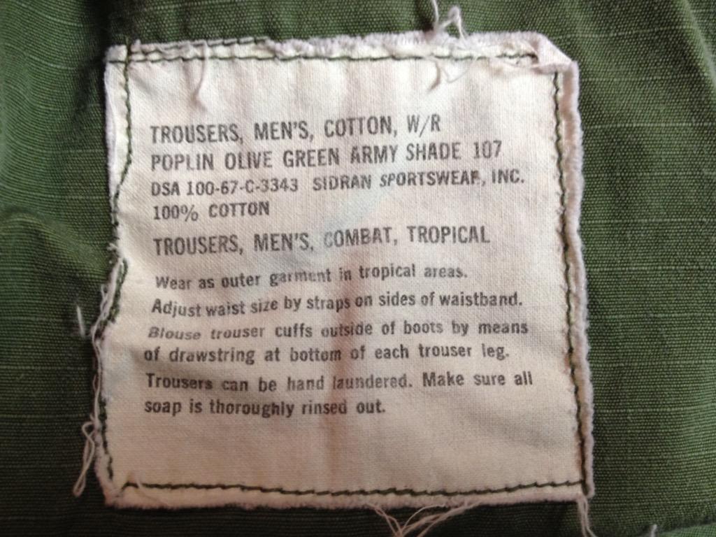 神戸店7/13(水)ヴィンテージ&スーペリア入荷!#6 US.ArmyMetal Button Chino Trousers!!!(T.W.神戸店)_c0078587_15444889.jpg