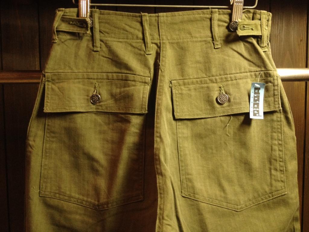 神戸店7/13(水)ヴィンテージ&スーペリア入荷!#6 US.ArmyMetal Button Chino Trousers!!!(T.W.神戸店)_c0078587_1572046.jpg