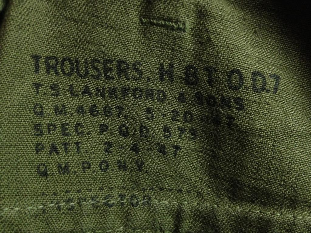 神戸店7/13(水)ヴィンテージ&スーペリア入荷!#6 US.ArmyMetal Button Chino Trousers!!!(T.W.神戸店)_c0078587_1574288.jpg