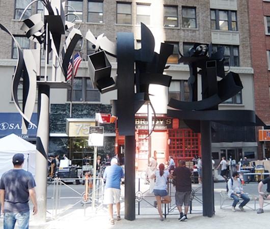 ロウアーマンハッタンでパブリック・アート巡りお散歩_b0007805_10522892.jpg