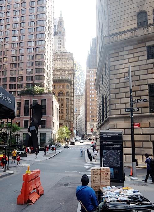 ロウアーマンハッタンでパブリック・アート巡りお散歩_b0007805_5525942.jpg