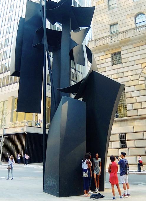 ロウアーマンハッタンでパブリック・アート巡りお散歩_b0007805_5541557.jpg
