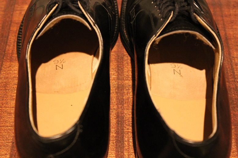 "USED ""VINTAGE LEATHER SHOES\"" ご紹介_f0191324_920498.jpg"