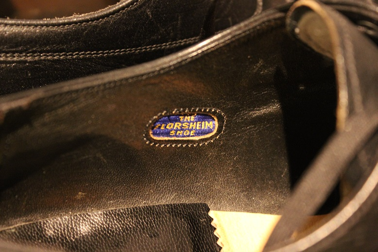 "USED ""VINTAGE LEATHER SHOES\"" ご紹介_f0191324_921086.jpg"