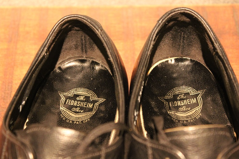 "USED ""VINTAGE LEATHER SHOES\"" ご紹介_f0191324_921647.jpg"