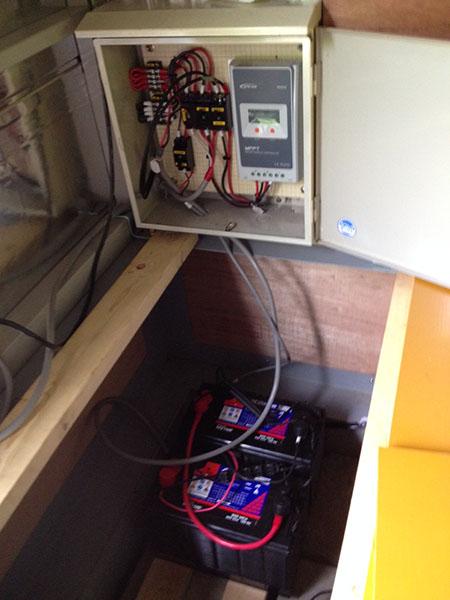 電力自給システム構築しました! オフグリッド天文台_c0061727_10413272.jpg