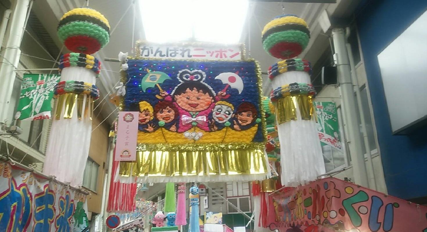 七夕in清水銀座駅前_f0129627_17492180.jpg