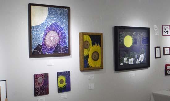 ギャラリーアートスープの企画展「夏の星まつり」が無事に終了しました。(Activity report)_e0224057_15594395.jpg