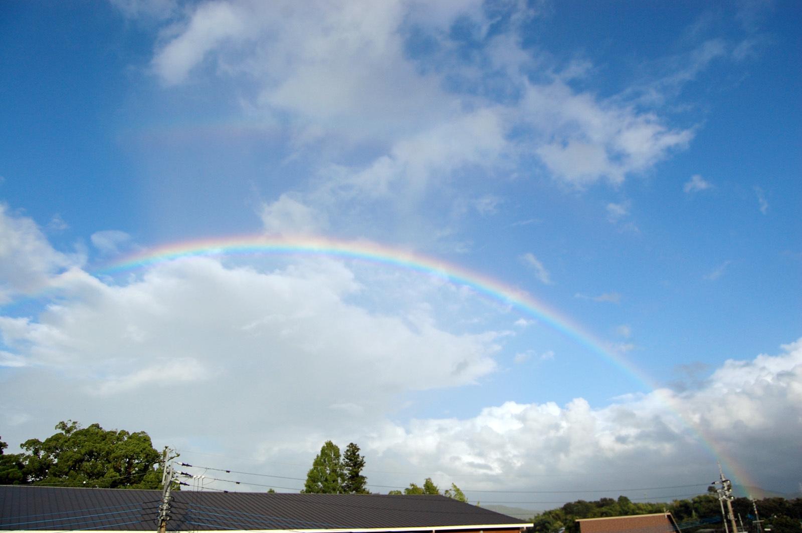 7月12日 きれいな虹_e0174091_18180988.jpg