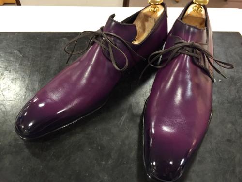 洗練された靴、チェントフェリーナ_d0166598_18231219.jpg