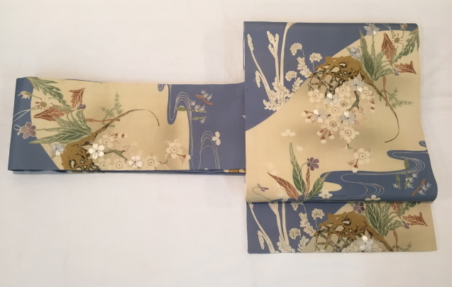 桜菫蕨帯×水玉着物♪販売商品45_c0321302_16083494.jpg