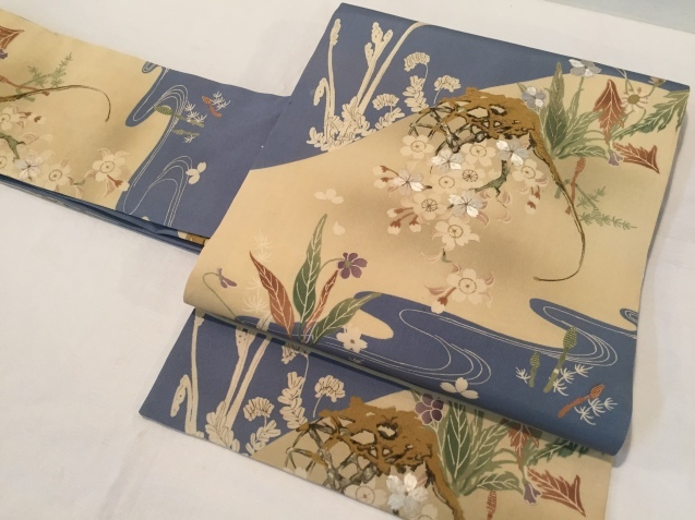 桜菫蕨帯×水玉着物♪販売商品45_c0321302_16084380.jpg