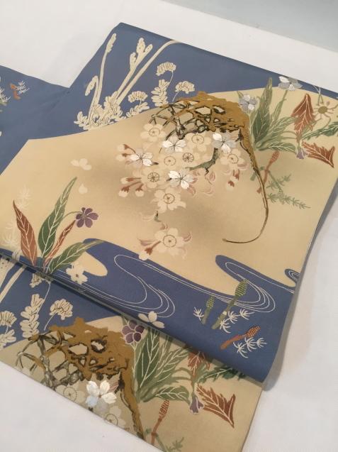 桜菫蕨帯×水玉着物♪販売商品45_c0321302_16085369.jpg