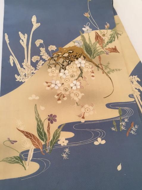 桜菫蕨帯×水玉着物♪販売商品45_c0321302_16090392.jpg