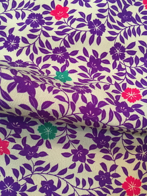 レアなテリヤ柄着物!使い勝手良い小紋色々♪販売商品50_c0321302_16464511.jpg