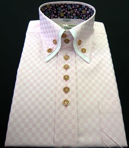 お客様のシャツ ピンク_a0110103_19402788.jpg