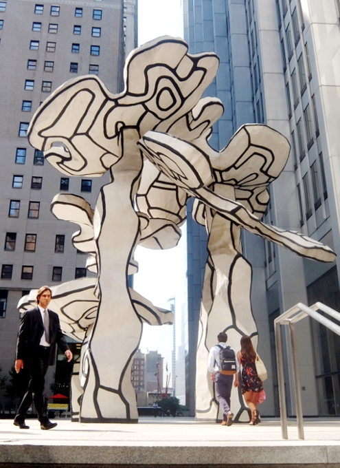 ロウアーマンハッタンでパブリック・アート巡りお散歩_b0007805_5221987.jpg