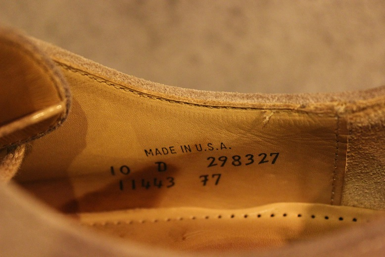 """夏に使える \""""Used Dress Shoes\"""" ご紹介_f0191324_1044737.jpg"""