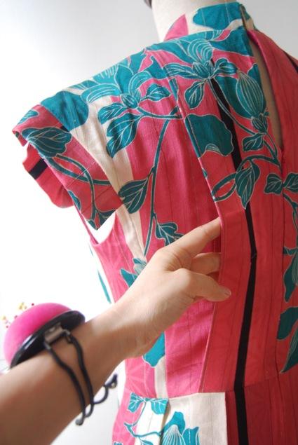 着物リメイク・アナのワンピース_d0127925_2317139.jpg